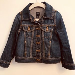 Gap girls denim jacket - size 3